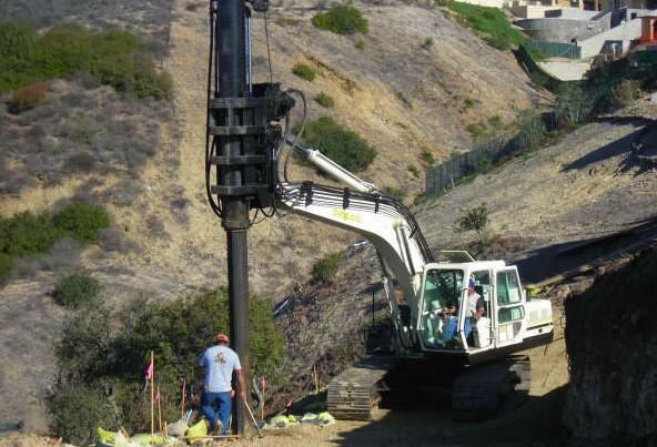 ShortDrill-excavator-mount